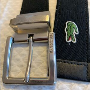 Lacoste reversible belt
